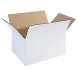 1186RW White Corrugated Boxes (11 1/4- x 8 3/4- x 6-)