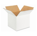 121210W White Corrugated Boxes (12- x 12- x 10-)