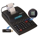 Victor 1280-7 12 Digit Heavy Duty Commercial Printing Calculator with Wireless Data Relay