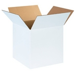 141414W White Corrugated Boxes (14- x 14- x 14-)