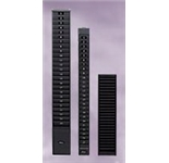 25-9G - Time Card Rack, 25 Capacity, 9 inch card, Charcoal Gray