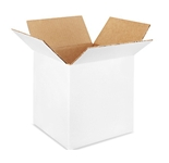 888W White Corrugated Boxes (8- x 8- x 8-)