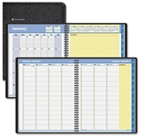 AT-A-GLANCE QuickNotes Weekly/Monthly Appointment Book, 8 1/4 x 10 7/8, Black, 2015