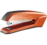 Bostitch Ascend Antimicrobial Stapler with Integrated Staple Remover and Staple Storage (B210R-ORG)