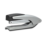 Bostitch Antimicrobial Premium Metal Executive Stand-Up Desktop Stapler, Silver (B3000-SLV)