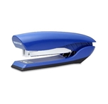 Bostitch Premium Antimicrobial Stand-Up No-Jam Desktop Stapler, Blue (B326-BLUE)
