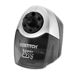 Bostitch SuperPro 6 Commercial Electric Pencil Sharpener, 6-Holes, Black/Silver (EPS12HC)