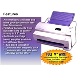 Brother LX900 9- Cold Laminator 1 Year Limited Warranty
