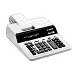 Canon MP24D 12 Digit Desktop Calculator