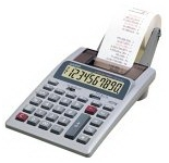 Casio HR100 Printing Calculator