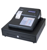 Sam4s ER-265EJ Cash Register with Small Cash Drawer and Flat Keyboard