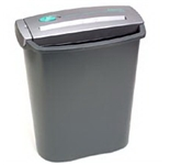 Fellowes SC5+ Strip Cut Shredder WITH basket