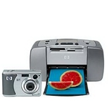 HP Photsmart 435/145 Digital Camera/Printer Bundle