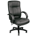 Odyssey LE9406BLK Leather Executive Chair