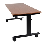 Luxor 60- Crank Adjustable Stand Up Desk Model Number- STANDCF60-BK/TK