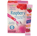 Office Snax OFX02723 Flavor Stix for Bottled Water Sugar-Free Raspberry .07 oz 10 Box