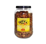 Office Snax OFX375 Pretzel Assortment, Peanut Butter, 44 oz, Canister