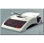 olympia traveller c portable /cordless typewriter new