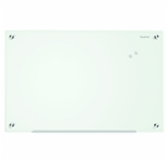 Quartet Infinity Glass Magnetic Marker Board, 24 x 18 Inches, White Surface, Frameless (G2418W)