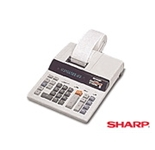 Sharp EL2615H 12-Digit Two Color Printing Calculator