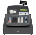 Sharp XE-A406 Dual Printing 7000PLU USB Cash Register