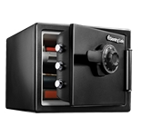 Large Fire Safes Combination - Fire, Impact, Water Resistant, 0.8 cu. ft.Model number-SFW082CTB