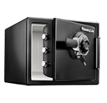 Large Fire Safes Combination - Fire, Impact, Water Resistant, 0.8 cu. ft.Model number-SFW082D