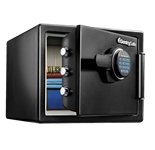 Large Fire Safes Digital - Fire, Impact, Water Resistant, 0.8 cu. ft.Model number-SFW082F