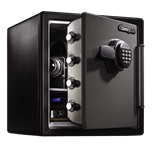Extra Large Fire Safes Digital - Fire, Water & Impact Resistant, 1.23 cu. ft.Model number-SFW123ES
