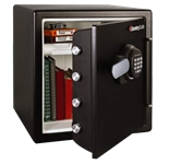 Extra Large Fire Safes Digital w/Backlite Keypad - Fire, Water & Impact Resistant, 1.23 cu. ft.Model number-SFW123FTC