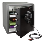 Extra Large Fire Safes Digital Connected Safe - Fire, Water & Impact Resistant, 1.23 cu. ft.Model number-SFW123GTF