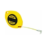 Stanley 34-106 Long Tape Measure, 3/8-- Graduations, 100 ft., Yellow
