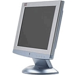 SYS Flat Panel LCD 15- w/Built in speakers