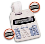 VICTOR 1228 12-Digit with Time/Date Feature