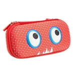 Pencil Case, Red Dots