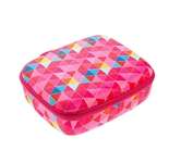 Lunch Box, Pink Triangles