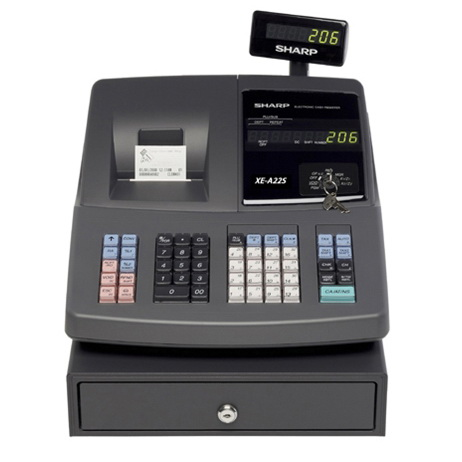 sharp xe a22s 99 departments cash register with microban refurbished sanyo cash register manual ecr 380 sanyo cash register manual ecr 165