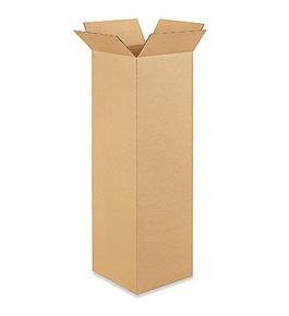 "101036 Tall Corrugated Boxes (10"" x 10"" x 36"")"