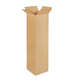 "101038 Tall Corrugated Boxes (10"" x 10"" x 38"")"