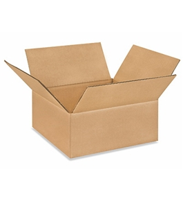 "10104 Flat Corrugated Boxes (10"" x 10"" x 4"")"