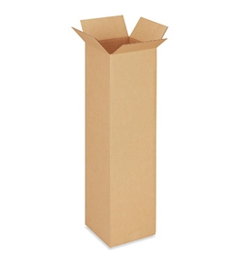 "101040 Tall Corrugated Boxes (10"" x 10"" x 40"")"