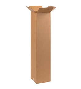 "101048 Tall Corrugated Boxes (10"" x 10"" x 48"")"