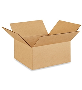"10105 Flat Corrugated Boxes (10"" x 10"" x 5"")"