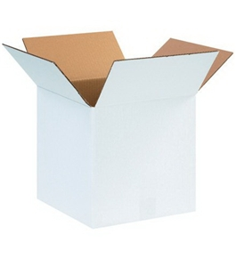 "121212W White Corrugated Boxes (12"" x 12"" x 12"")"