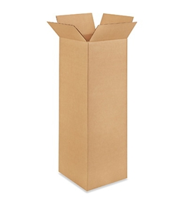 "121236 Tall Corrugated Boxes (12"" x 12"" x 36"")"