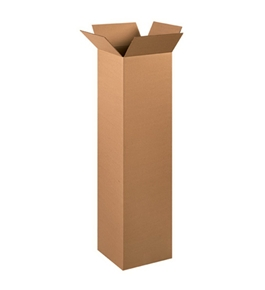 "121248 Tall Corrugated Boxes (12"" x 12"" x 48"")"
