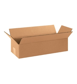 "1244 Long Corrugated Boxes (12"" x 4"" x 4"")"