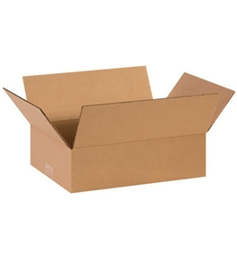 "14104 Flat Corrugated Boxes (14"" x 10"" x 4"")"