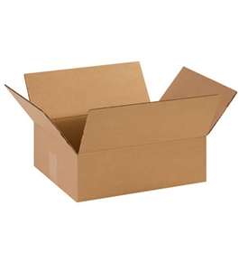 "14114 Flat Corrugated Boxes (14"" x 11"" x 4 1/2?)"