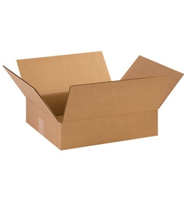 "14123 Corrugated Boxes (14 3/8"" x 12 1/2"" x 3 1/2?)"